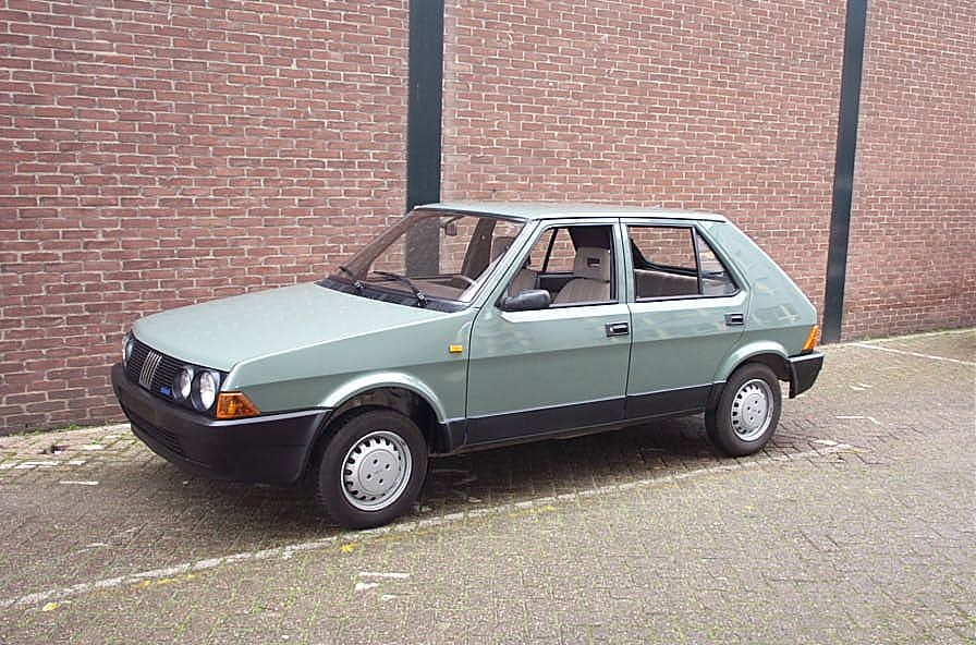 Bilmodel Dk 187 Fiat Ritmo