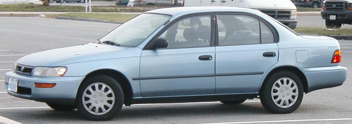 Bilmodel Dk 187 Toyota Corolla E100