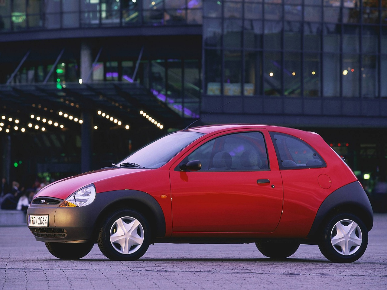 Ford ka 2001 joinville 3d