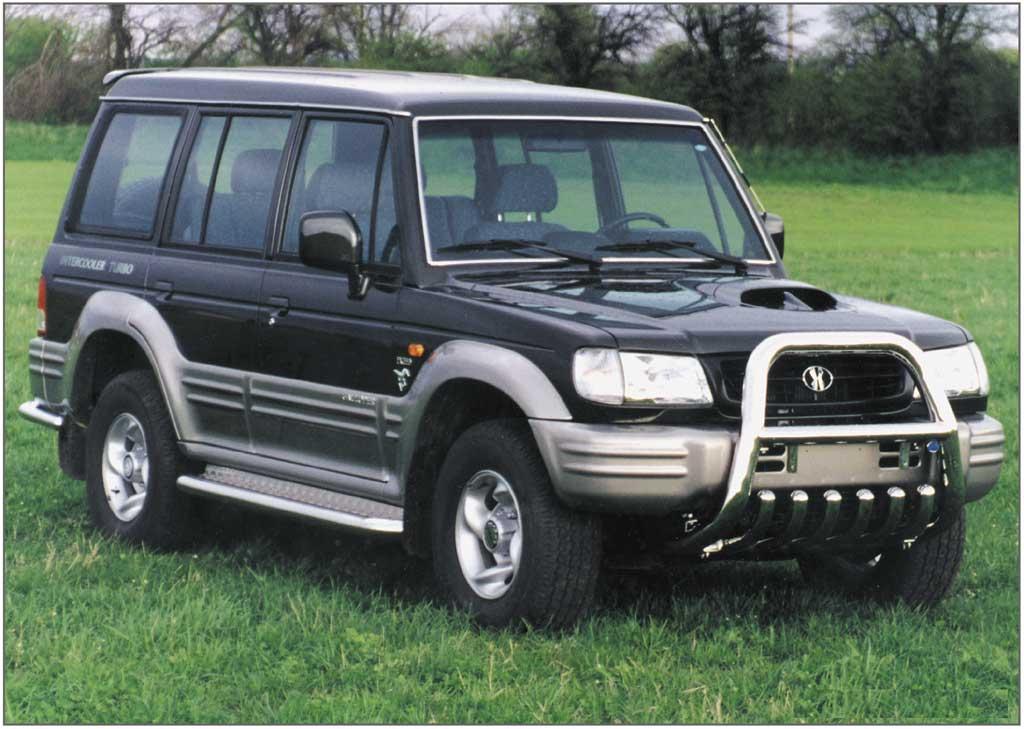 bilmodel.dk » Hyundai Galloper