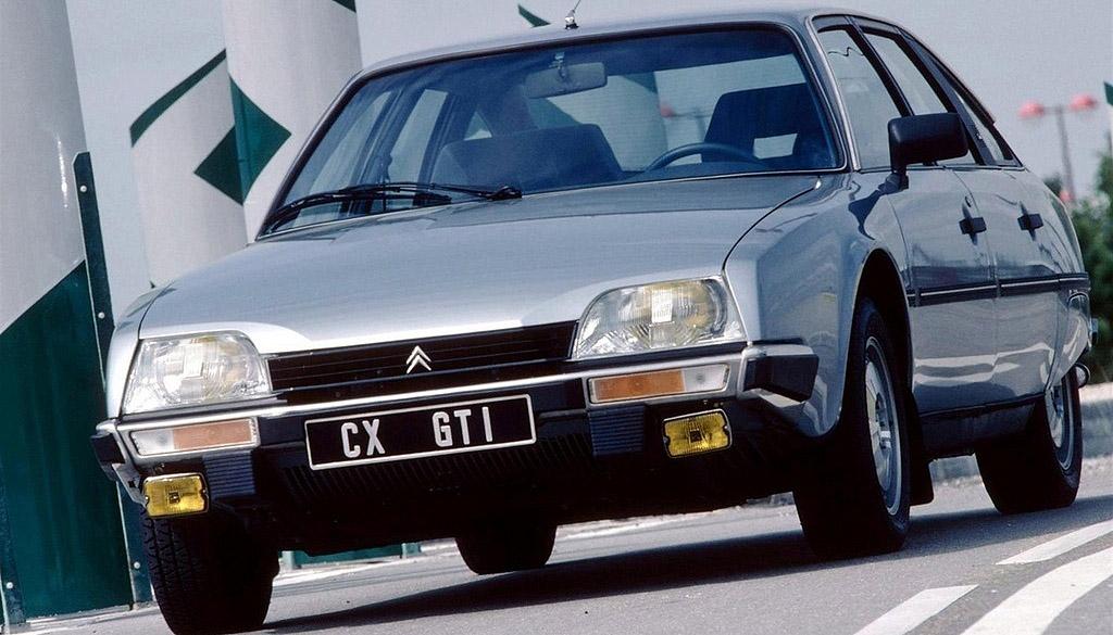 Bilmodel Dk 187 Citroen Cx 25 Gti Turbo 2